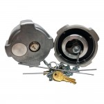 TAPON PUSH & TURN. FREIGHTLINER THERMAL RELIF. CON CHAPA