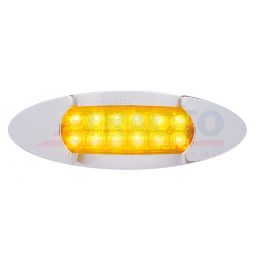 12 LED PETERBILT REFLECTOR CROMADO MAVERICK