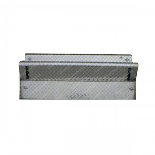 34 Inch Diamond Plate Battery Box Cover Fits Kenworth T800, W900B, W900L Old Style