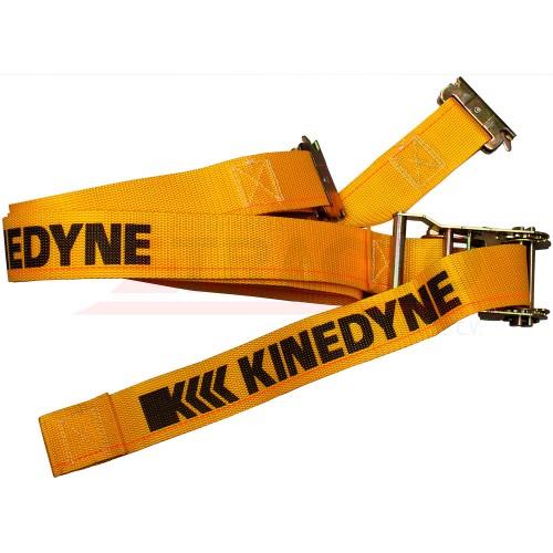 "Banda con trinquete para riel tipo ""E"", 2"" X 12', carga límite de trabajo 1000 Lbs/455 Kgs"