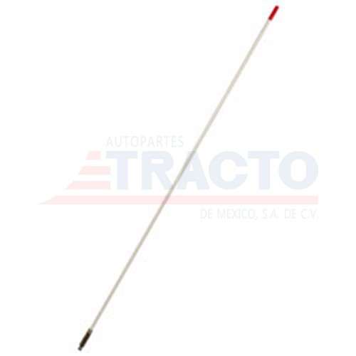 Antena 4 hot rod CB, blanca