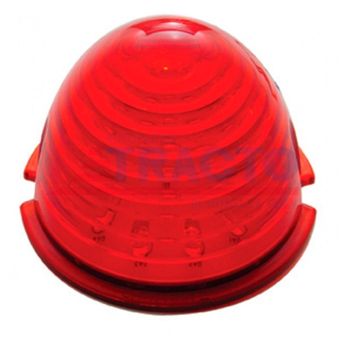 17 LED BEEHIVE CAB LIGHT ROJO/ LENTE ROJO