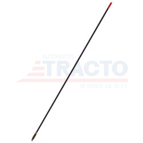 Antena 3 hot rod CB, negra